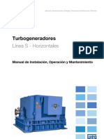 WEG Turbogenerador 10656299 Manual Espanol
