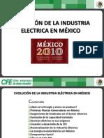 Evolucion de La Industria Electrica en Mexico