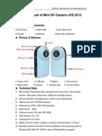 Mini DV SPCA 1528 Camera User Guide