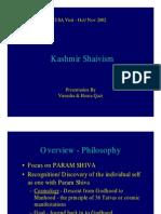 Kashmira Shaivism
