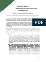 1992-DeclaracionBogota