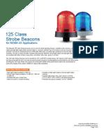 125 Strobe Beacons Datasheet
