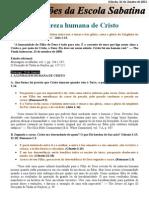 Licao 04 - A Natureza Humana de Cristo - 26 de Janeiro de 2013 (PDF Com Versos)