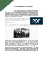 PROCESOS DE FABRICACION DEL CAÑA DE AZUCAR