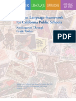 Foreign Language Framework for CA Public Schools