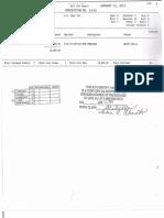 January 15 2013 bills
