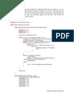 Determinante de una matriz Java recursivo