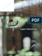 Sunon Super Silence Fan Catalogue