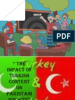 Impact of turkish and western culture in pakistan