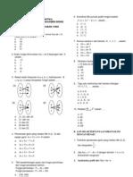 Uas Matematika Bb Kelas Xi Gasal