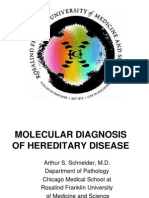 Lecture on moleular diagnosis