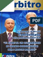 """Rivista l'""""Arbitro"""" 06/2012"""