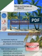 Alergias a Metales en Ortodoncia
