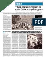 Memorias de Bacares, Editorial Círculo Rojo. Diario de Almería