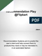 flipkart recommendation doc