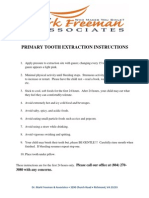 primarytoothextractioninstructions
