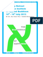 The Economics Of Happiness_Wake Up Retreat 2013_EIAB