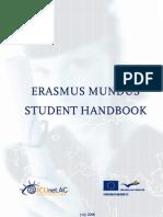 Student Hand book for Erasmus Mundus Scholarship