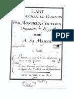 L'Art DeToucher Le Clavecin-Couperin70pag