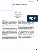 geopolymer synthesis