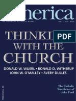 Editorial, America Magazine (4 Feb 2013)