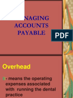 2. Managing Accounts Payable - Midterm