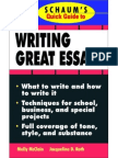 Quick Guide To Essay Writing