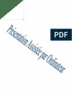 PAO - Les Manipulations