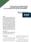 DISSEMINAÇÃO SELETIVA DA INFORMAÇÃO EM BIBLIOTECAS UNIVERSITARIAS EM PRO...