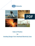 Code of Practice for Avoiding Danger From Overhead Electricity