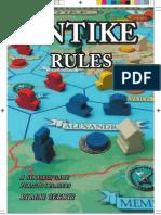 Antike - rules