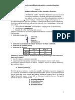 Metode si tehnici utilizate in analiza economico-financiara