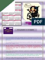 Calendario IPADEVI 2013