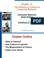 Schiffmans Culture in consumer Behaviuor