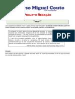 Projeto Redacao 2012 Tema 17