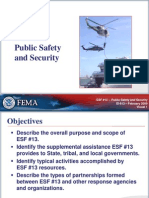 Emergency Support Functions FEMA Training document
