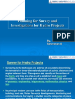 Survey and Investigations for Hydro Power Projects