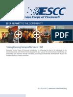 ESCC 2011 Report to the Community