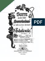 249924 Tchaikovsky Sleeping Beauty Suite Piano Siloti