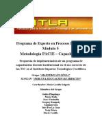 Programa Capacitación Docente en TIC para el ITSCO