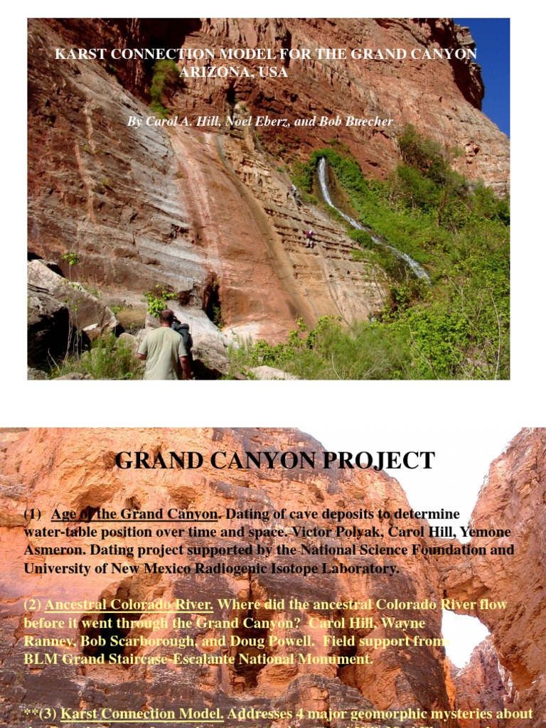 grand canyon dating projekt