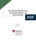 Self-Perception Profile for Adolescents