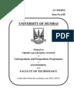 mumbai university ME manual