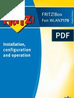 Manual Fritzbox Fon Wlan 7170