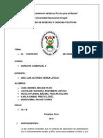 Contrato de Consorcio Terminado