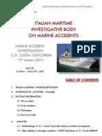 Costa Concordia Report