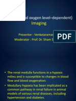 BOLD (blood oxygen level–dependent)  in nephrology