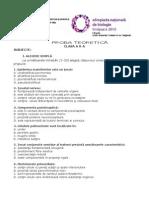 2010 Biologie Etapa Nationala Subiecte Clasa a X-A 1
