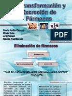 biotransformacionyexcreciondefarmacos-111022214441-phpapp01