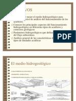 Acuifero y Unidad Hidrogeologica